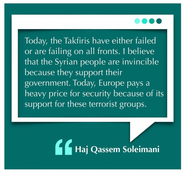 Today, the Takfiris have either failed or are failing on all fronts