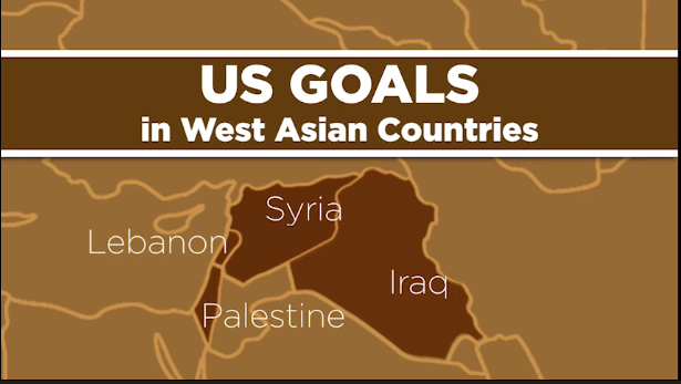 US GOALS in West Asian Countries